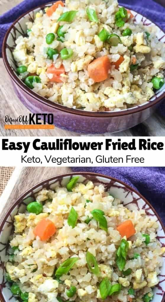 Keto Cauliflower Fried Rice Recipe