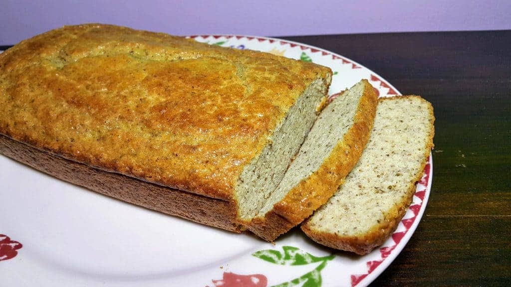 Keto bread aka egg loaf made with coconut flour. See more of my keto first week weight loss results