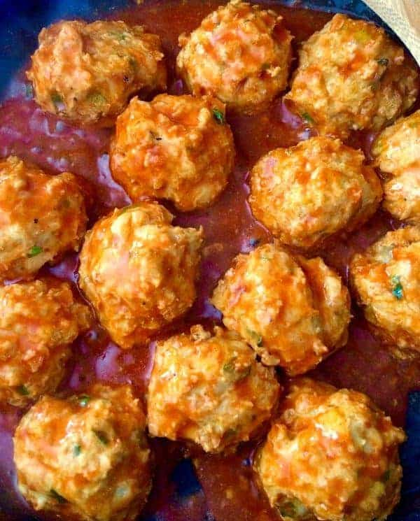 Buffalo Chicken Meatballs - Keto Kids Recipes