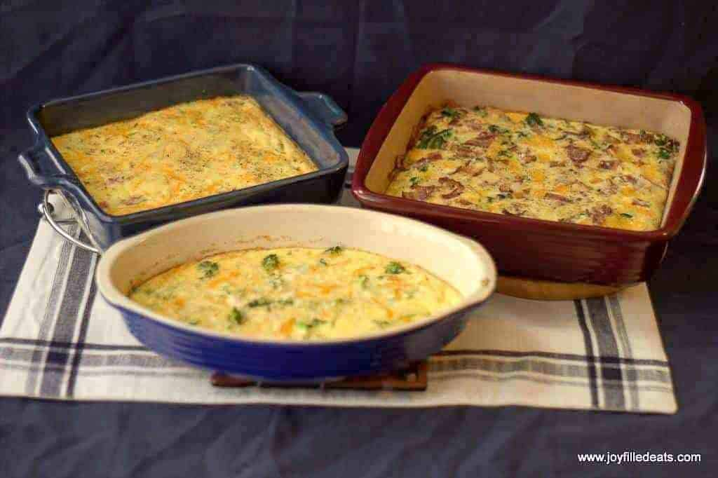 Cream Cheese Easy Keto Egg Bake