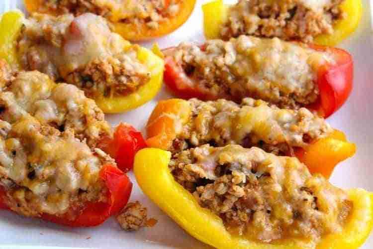 Skinny Bell Pepper Nacho Boats - Family-Friendly Keto Recipes