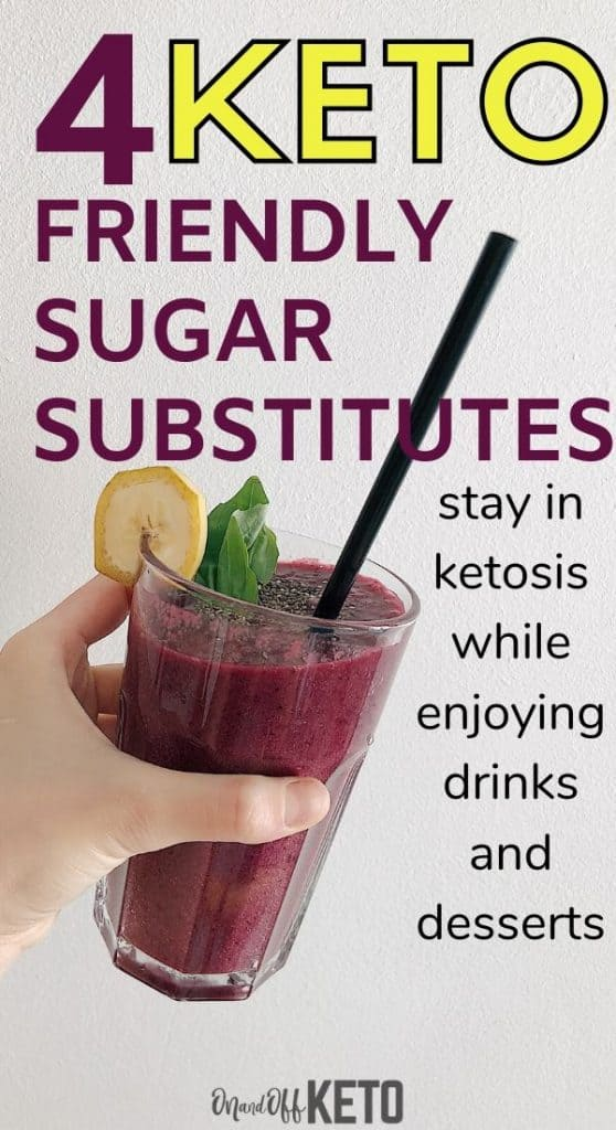 keto sweetener sugar substitutes