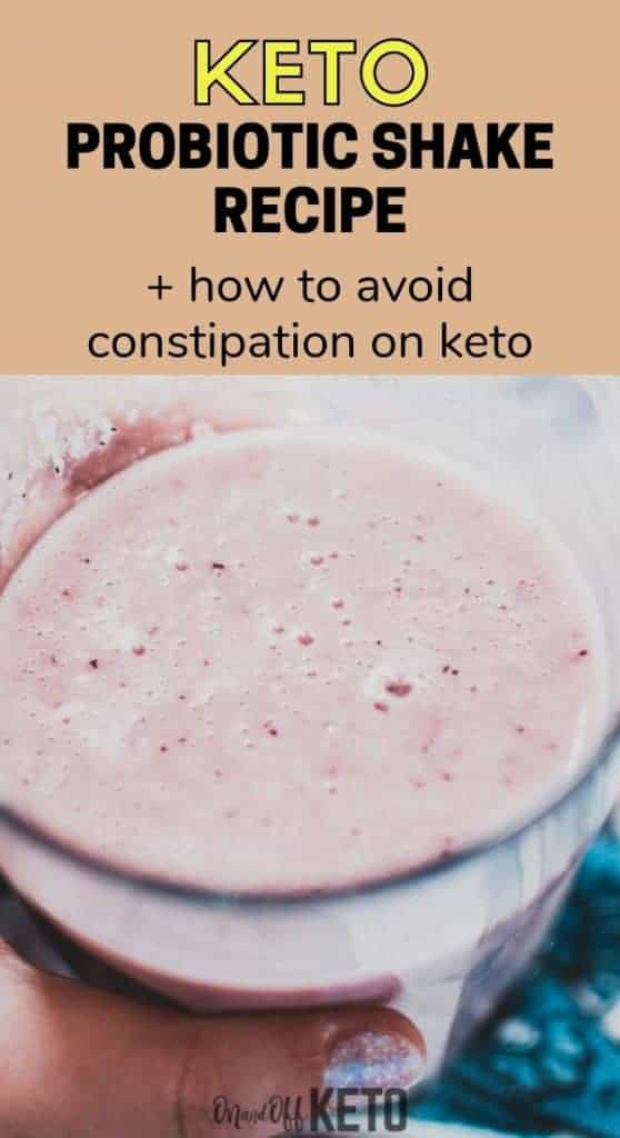 keto probiotic smoothie