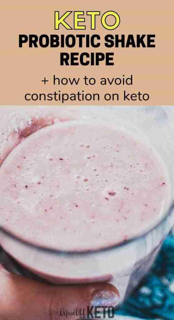 keto probiotic smoothie
