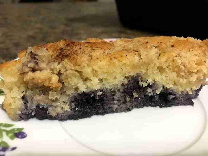 Keto Blueberry Cake