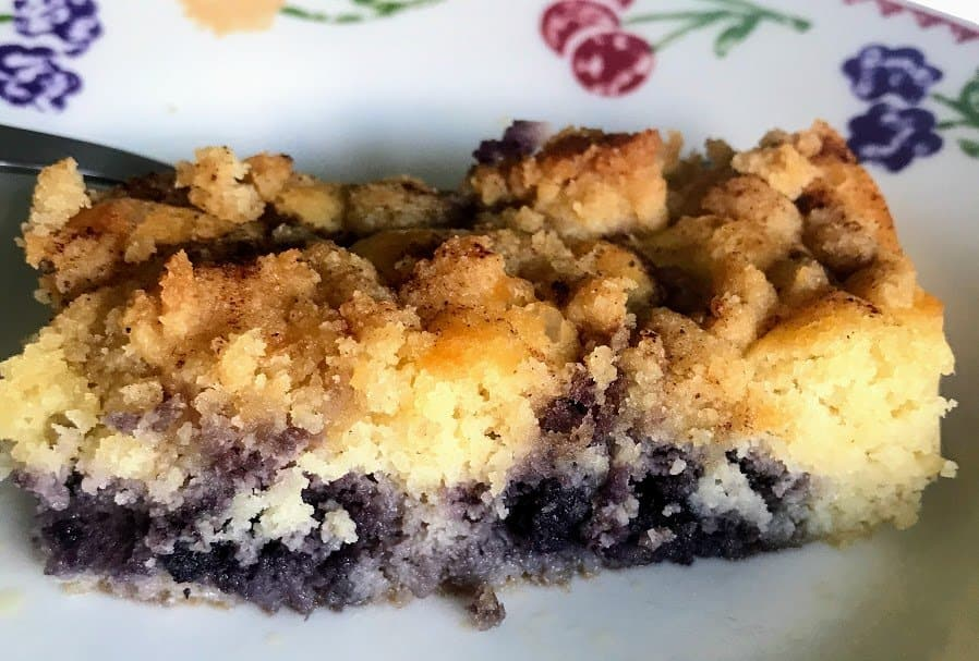 Keto Blueberry Cake Recipe Adaptation
