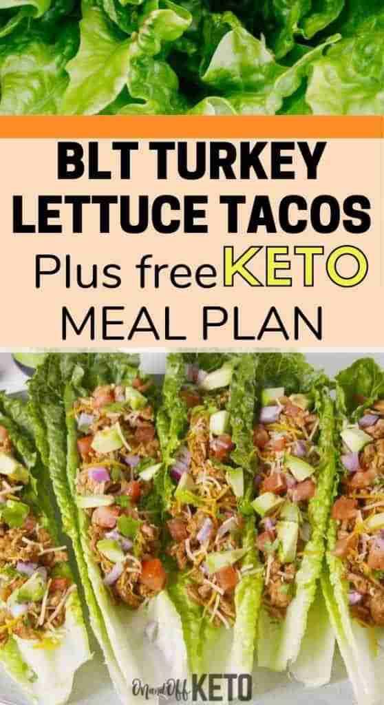 BLT Turkey Lettuce Wraps