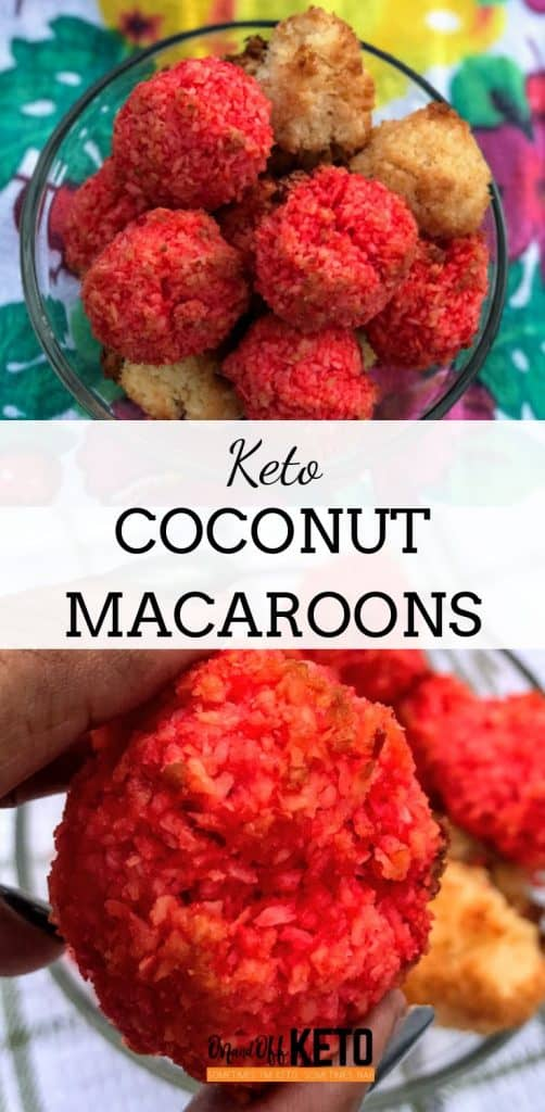 low carb macaroons with almond flour