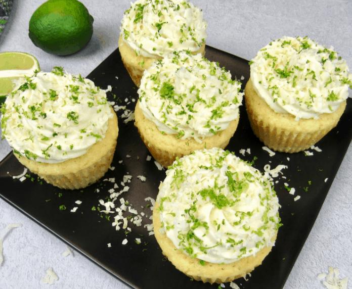 Coconut Lime Keto Cupcakes Recipe