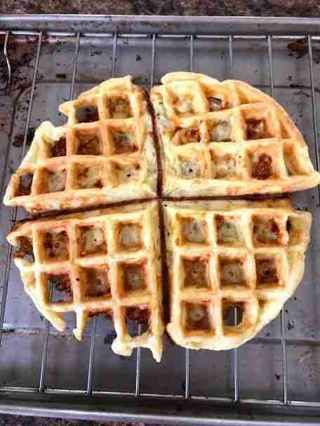 Basic Chaffle Keto Waffle