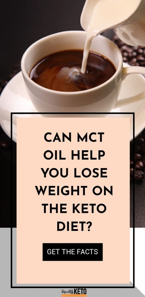 Can MCT oil help you lose weight?