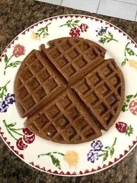 Chocolate Coconut Flour Chaffle