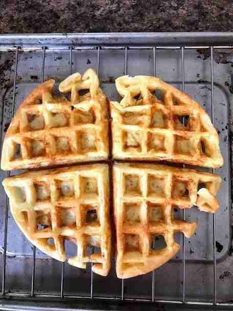Almond Flour Waffle