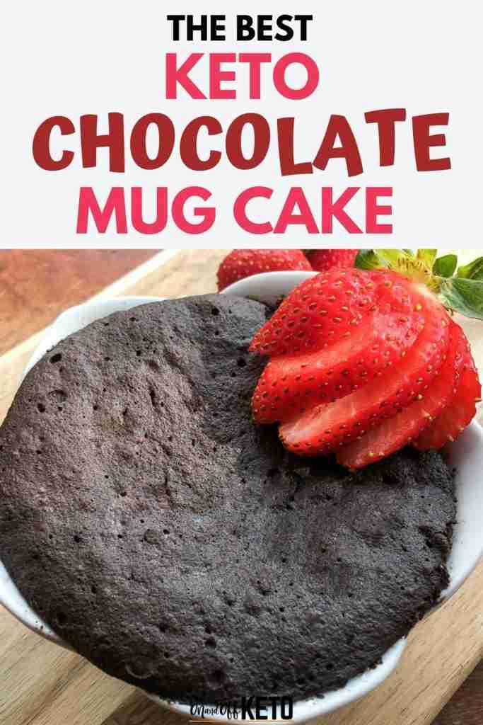 Keto Chocolate Mug Cake Recipe