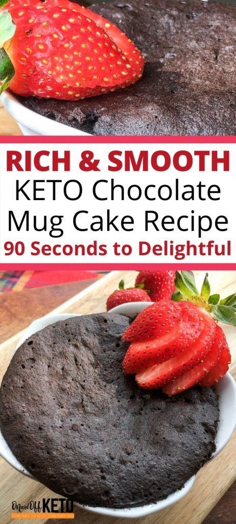 Keto Chocolate Mug Cake Recipe