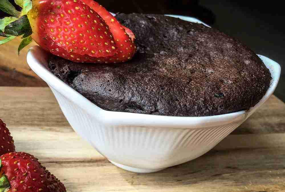 The BEST Keto Chocolate Mug Cake Recipe