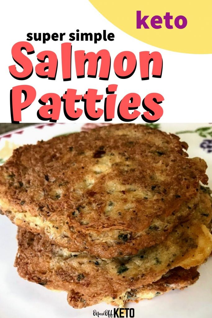 Keto Salmon Patties