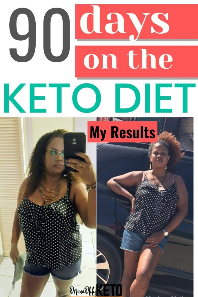 90 days on keto