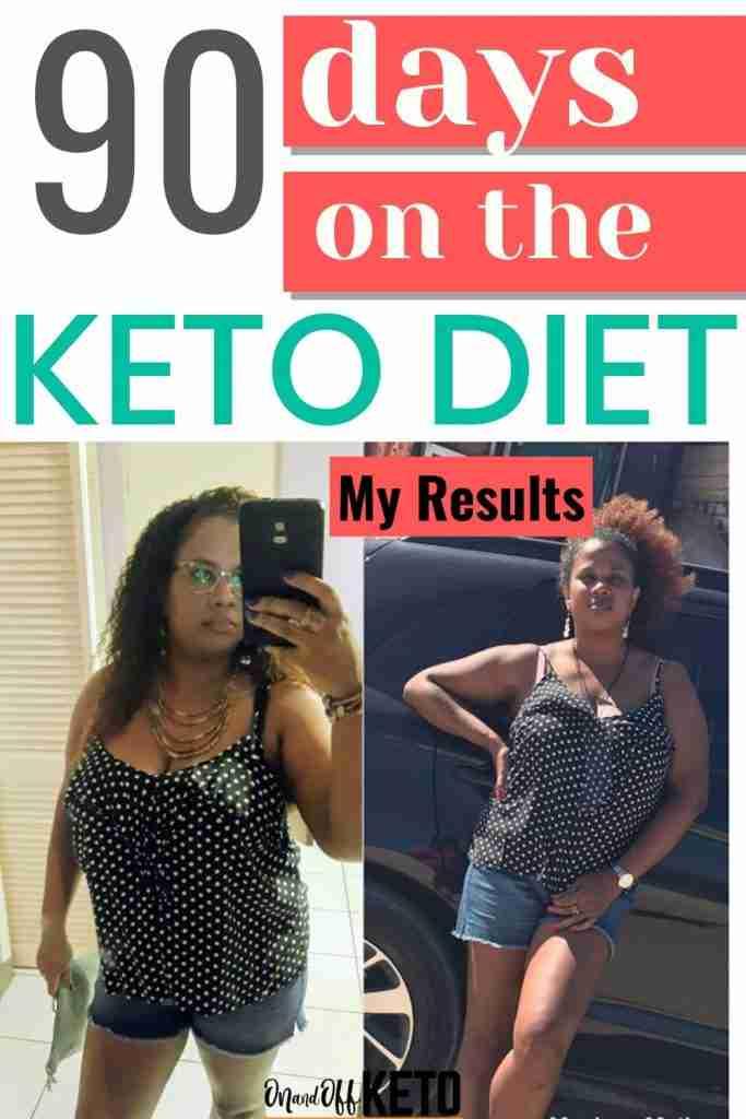 90 days on keto