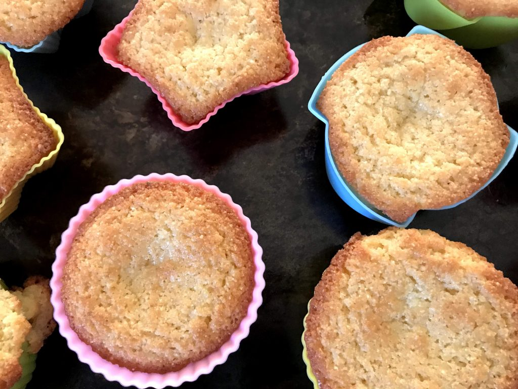 Coconut Lime Keto Cupcakes