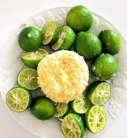 Light and Airy Coconut Lime Keto Cupcakes