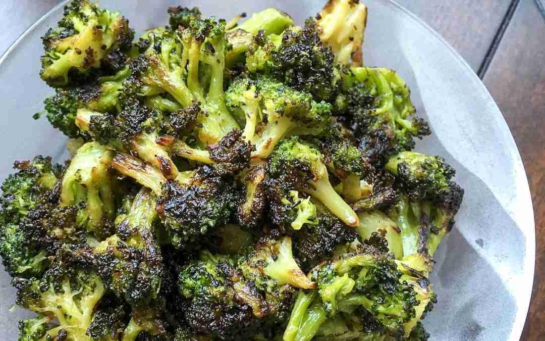 Blackened Broccoli – Simple Keto Side Dish