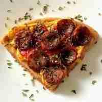 Keto Wonder Bread Chaffle Pizza