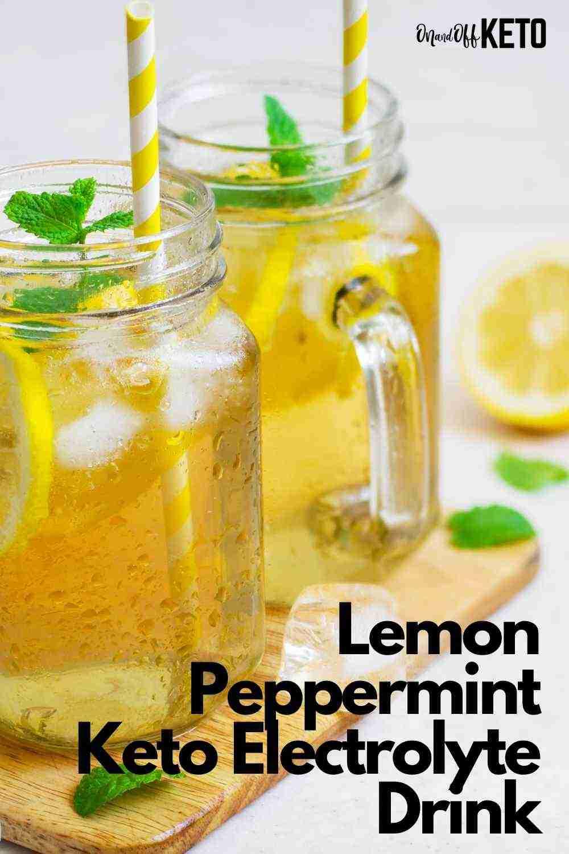Easy Peppermint Keto Electrolyte Drink Recipe