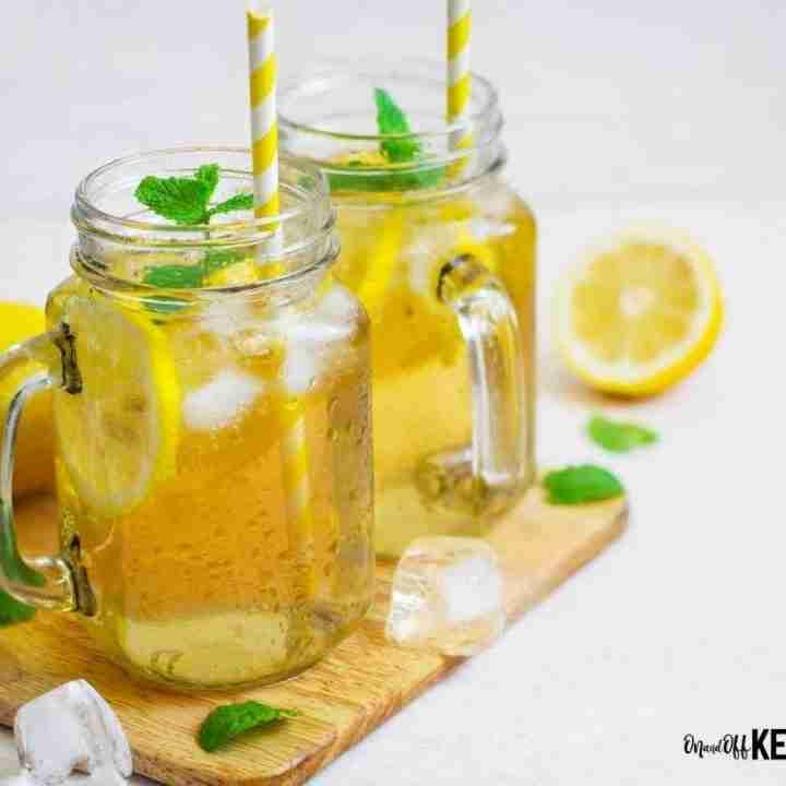 Lemon Peppermint Keto Electrolyte Drink