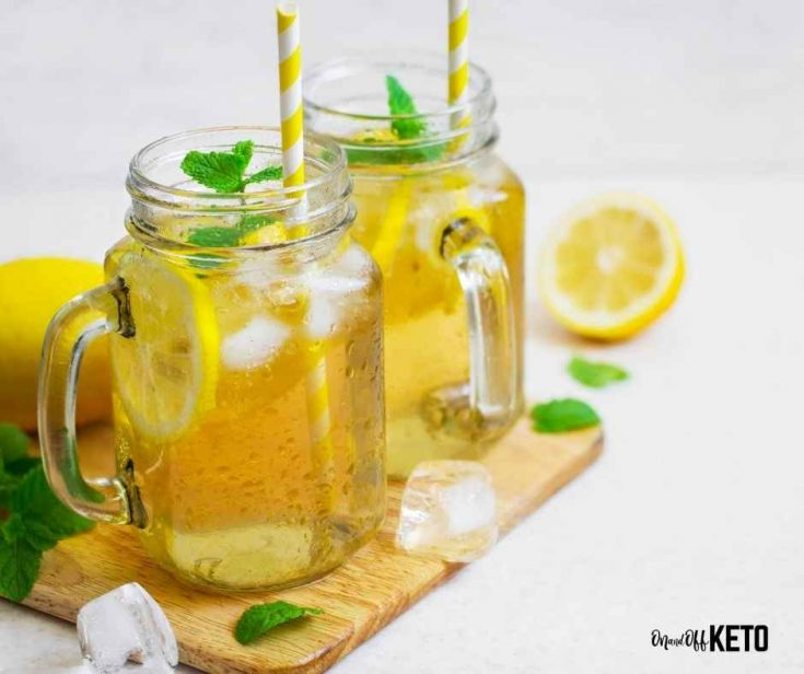 Lemon Peppermint Keto Electrolyte Drink