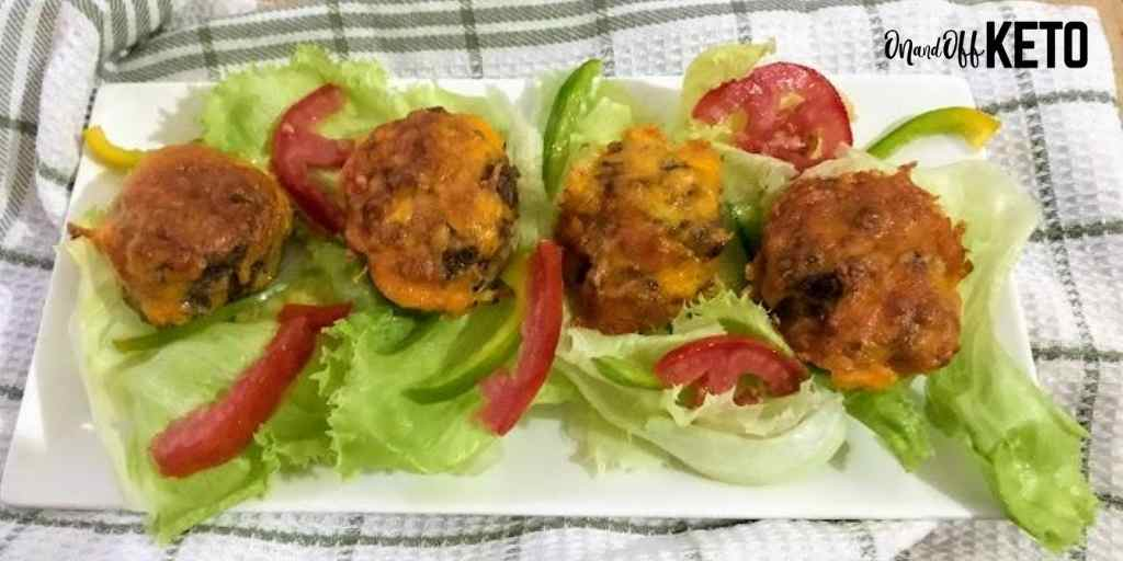 The Best Keto Meatloaf Muffins Ever!