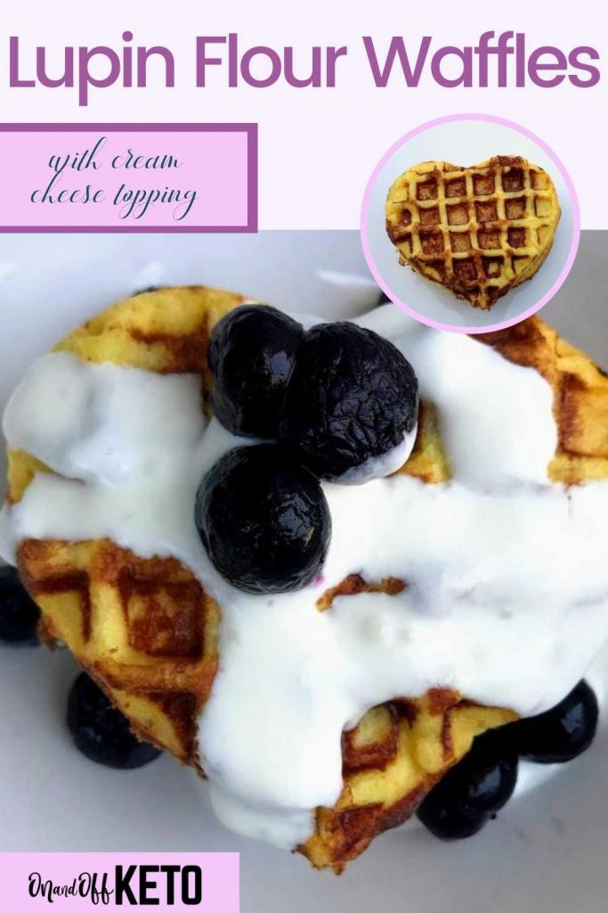 Lupin Flour Waffles