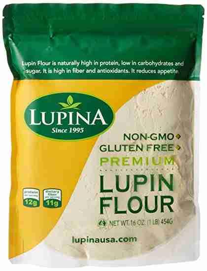 Lupin flour