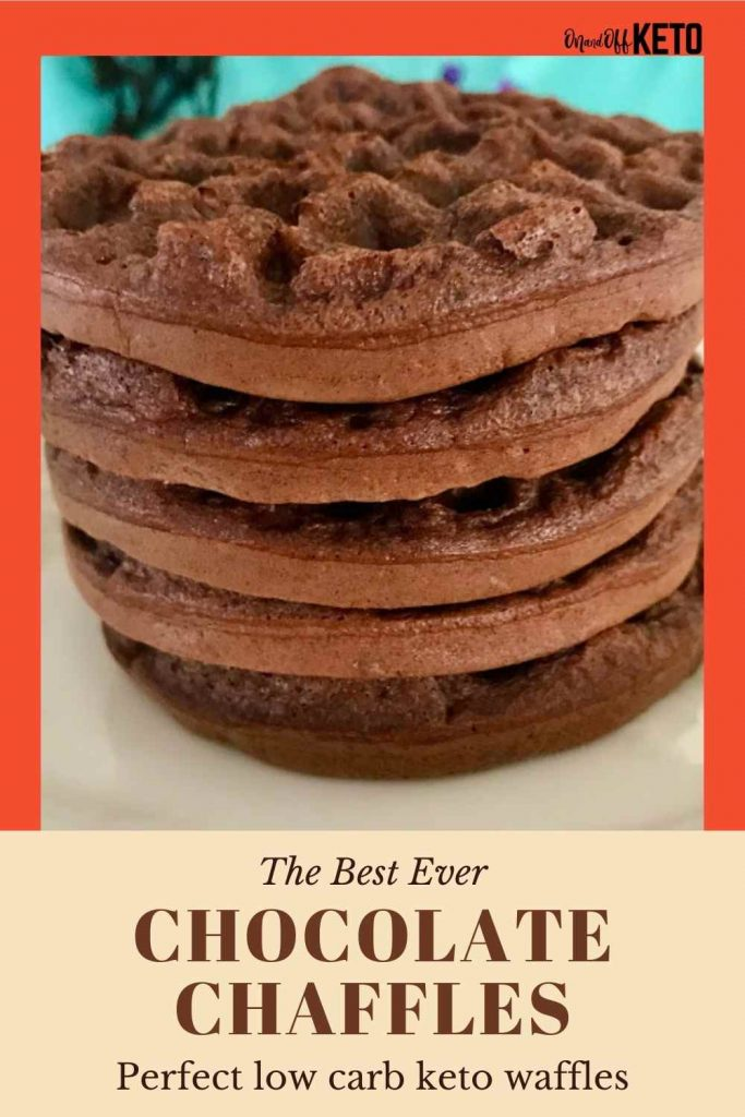 chocolate chaffles