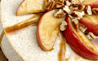 Instant Pot Apple-Cinnamon Cheesecake