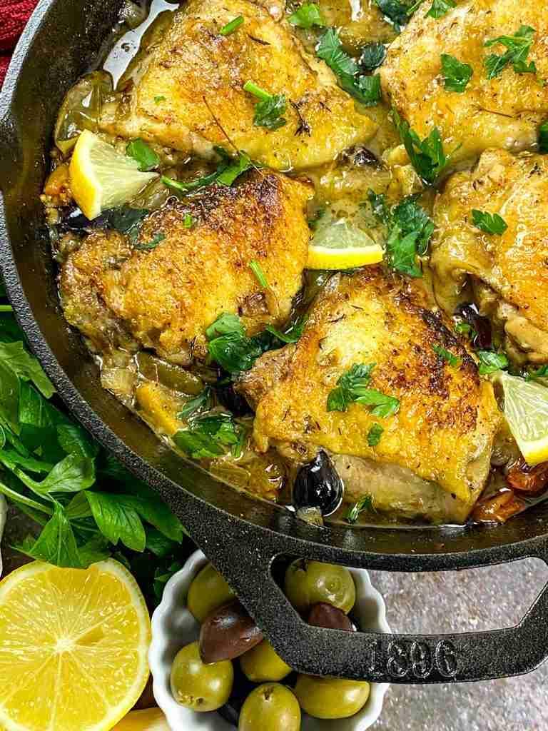 Keto Chicken Provençal