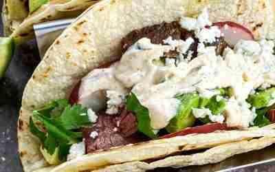 Delicious Keto Steak Street Tacos