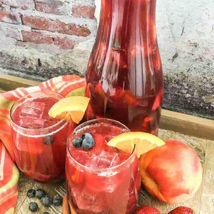 """Berry Peach Sparkling """"Sangria"""""""